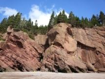 Hopewell Rocks in canada