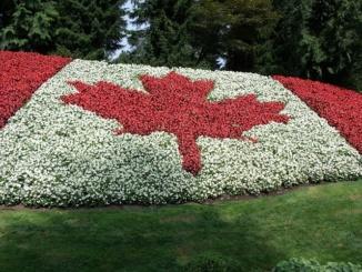Gardens Bc Agassiz Minter Canada Flag Canadian