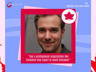 Canadian Visa Expert - Testimonial