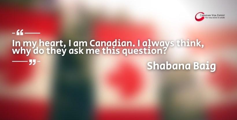 Canadian Visa Expert: Shabana Baig