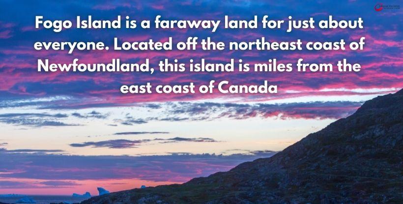 Canadian Visa Expert - Fogo Island